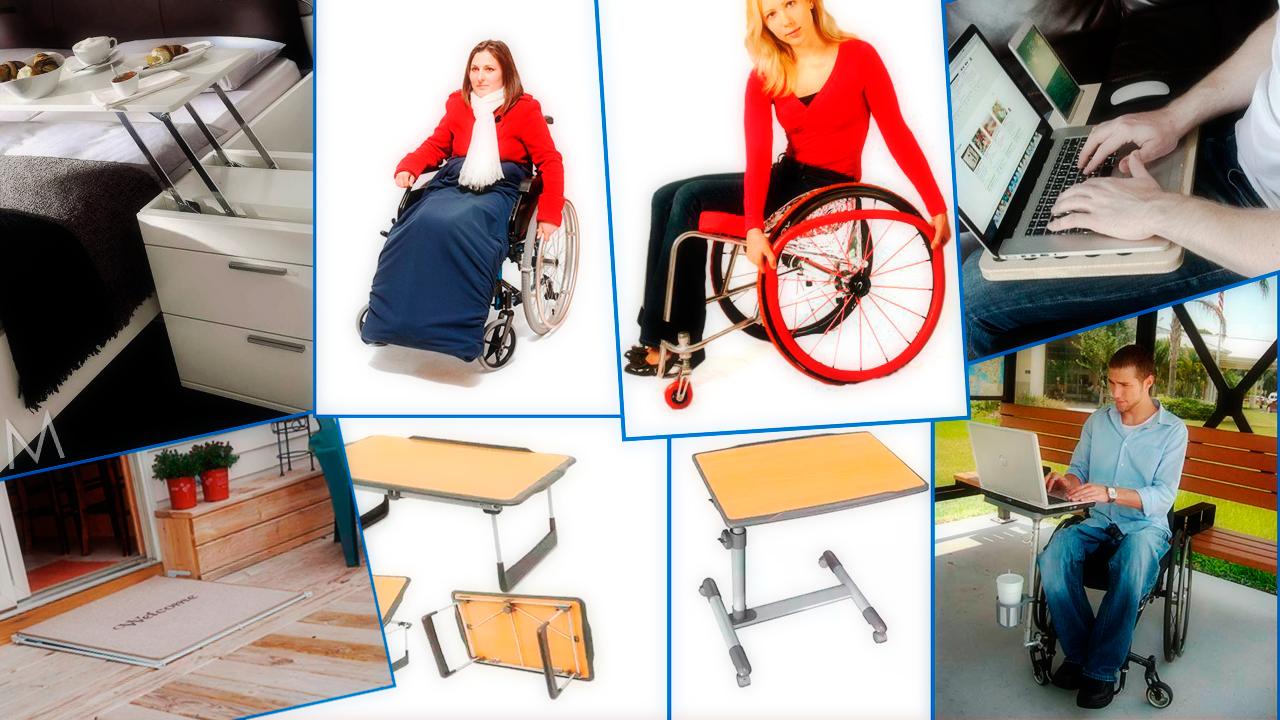 adaptações e produtos para cadeirantes